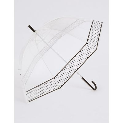 M&S Collection Mini Spot Walker Umbrella with Stormwear