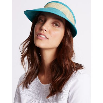 M&S Collection Colour Block Visor Hat