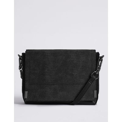 M&S Collection 3 Part Compartment Across Body Bag