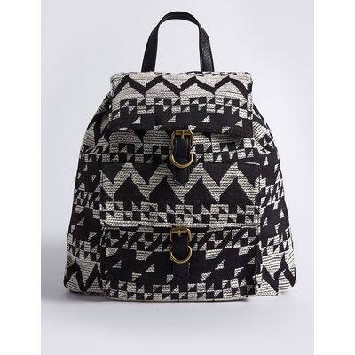 M&S Collection Jacquard Backpack