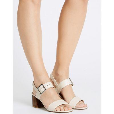 M&S Collection Block Heel Sandals