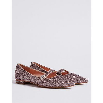 M&S Collection Pointed Pump Shoes