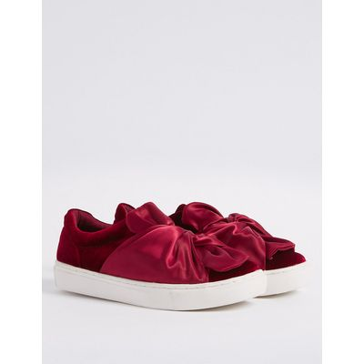 M&S Collection Flatform Twist Trainers with Insolia Flex