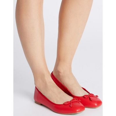 M&S Collection Bow Pump Shoes