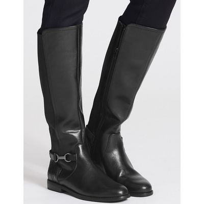 M&S Collection Block Heel Knee High Boots