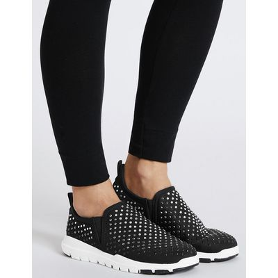 M&S Collection Jewelled Trainers