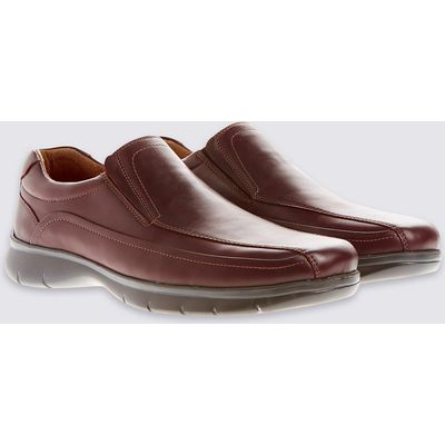 M&S Collection Leather Elastic Loafers