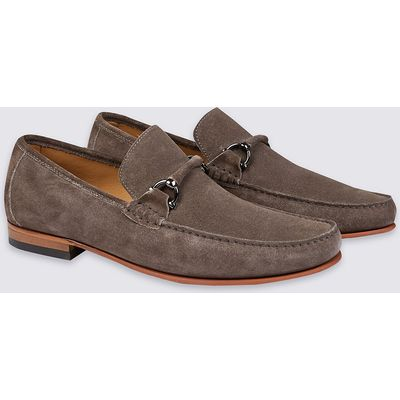 Collezione Suede Snaffle Loafers