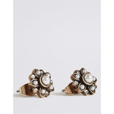 M&S Collection Pearl Effect Stud Earrings