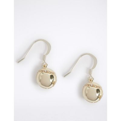 M&S Collection Ball Drop Earrings