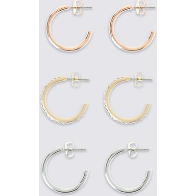 M&S Collection Mini Hoop Earring Set