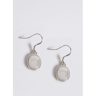 M&S Collection Silver Plated Drop Earrings