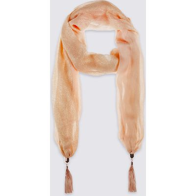 M&S Collection Glimmer Scarf Necklace