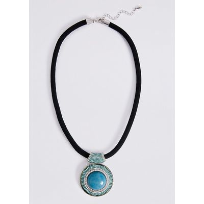 M&S Collection Circle Glimmer Necklace