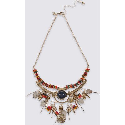 M&S Collection Charmy Beaded Necklace