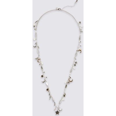M&S Collection Moon & Star Pendant Necklace