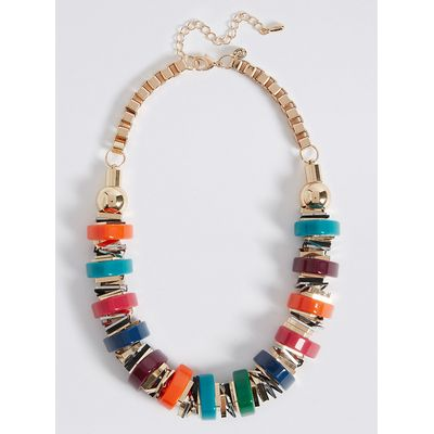 M&S Collection Chunky Tube Collar Necklace