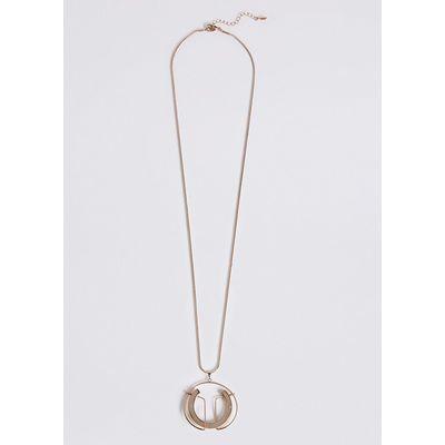 M&S Collection Sculptural Pendant Necklace