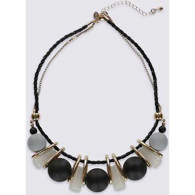 M&S Collection Resin Ball Necklace