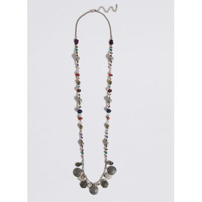 M&S Collection Charm Long Necklace