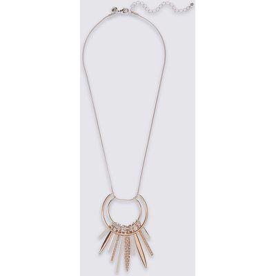 M&S Collection Multi Stick Pendant Necklace