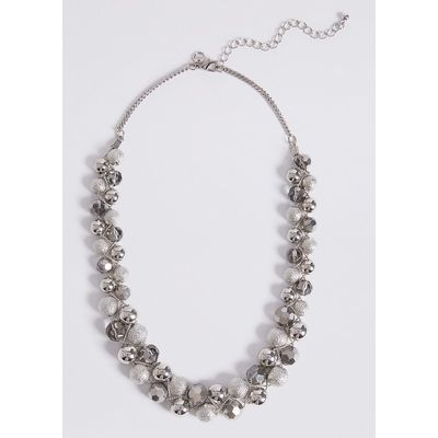 M&S Collection Twist Glass Necklace