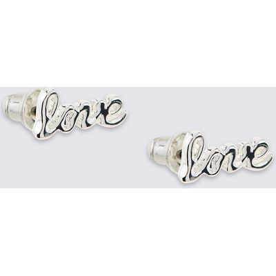 M&S Collection Love Stud Earrings