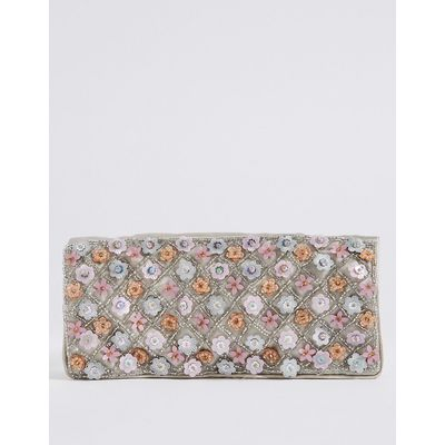 M&S Collection Floral Repeat Wrap