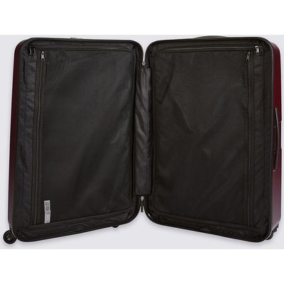 M&S Collection Large 4 Wheel Hard Suitcase