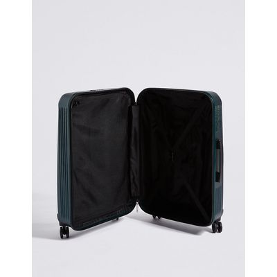 M&S Collection Medium 4 Wheel Lightweight Hard Suitcase