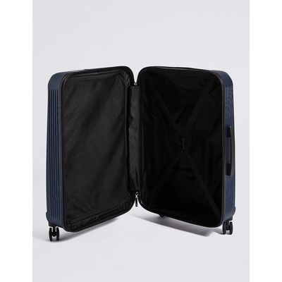 M&S Collection Large 4 Wheel Lightweight Hard Suitcase