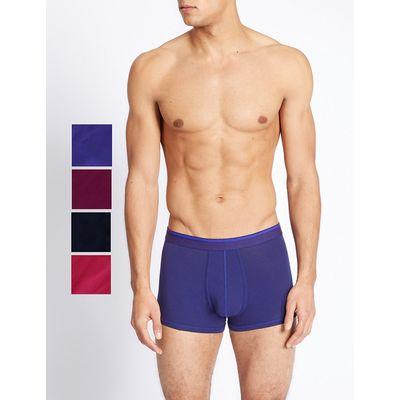 M&S Collection 5 Pack Cotton Rich Hipster Underwear