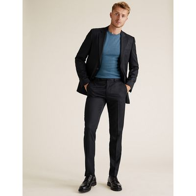 M&S Collection Navy Slim Fit Jacket