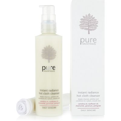 Pure Daily Skincare Instant Radiance Hot Cloth Cleanser 200ml