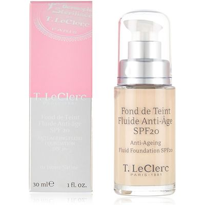 T.LeClerc Anti-Ageing Fluid Foundation SPF20 30ml