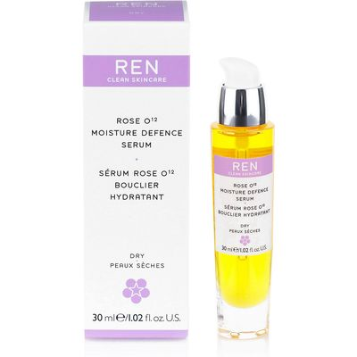 REN Rose O¹² Moisture Defence Serum 30ml