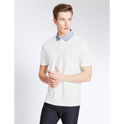 Limited Edition Slim Fit Cotton Rich Polo Shirt