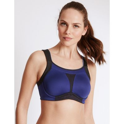 M&S Collection Extra High Impact Non-Padded Full Cup Bra B-G