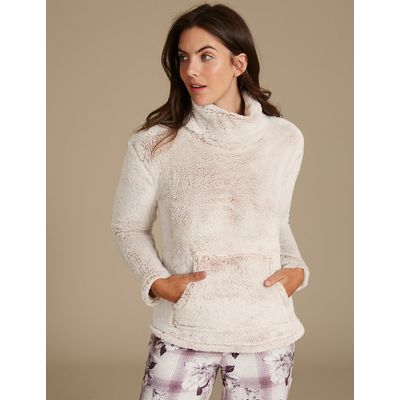 M&S Collection Long Sleeve Cosy Pyjama Top