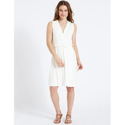 M&S Collection Cross Over Wrap Dress