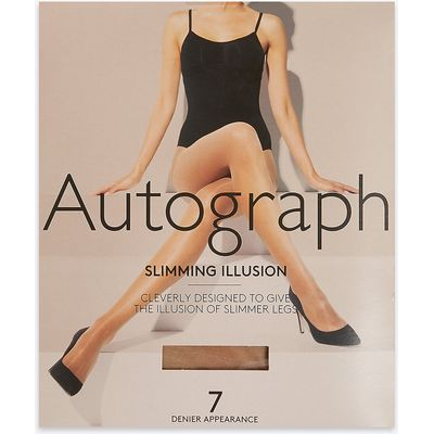 Autograph 7 Denier Cool Comfort Slimming Illusion Sheer Tights