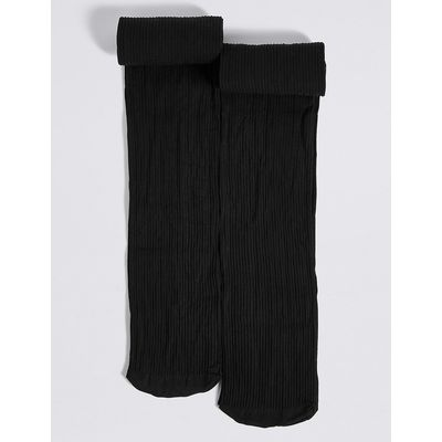 2 Pairs of Freshfeet Opaque Tights (6-14 Years)