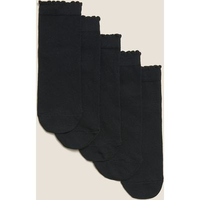 5 Pack of Freshfeet Cotton Rich Socks (3-14 Years)