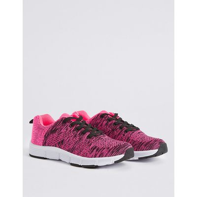 Kids' Knitted Sports Trainers