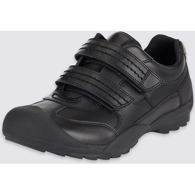 Kids' Leather Wide Fit School Shoes