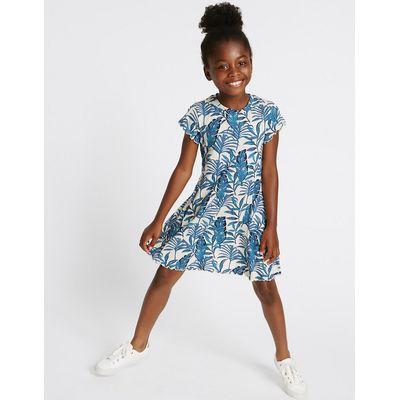 Printed Jersey Dress (3-14 Years)