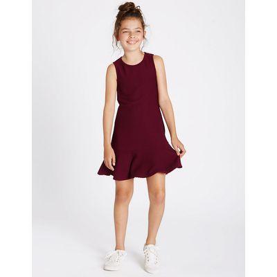 Fluted Hem Dress (3-14 Years)