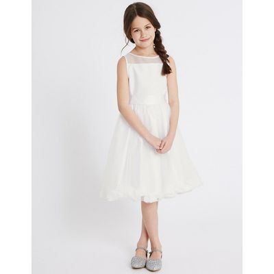 Petal Hem Communion Dress (5-14 Years)