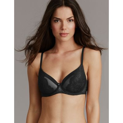 Autograph Dentelle Lace Padded Full Cup Bra A-E