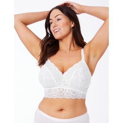 M&S Collection Louisa Lace Bralet DD+